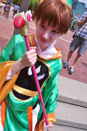 Syaoran Li from Card Captor Sakura (Worn by Kwippy)