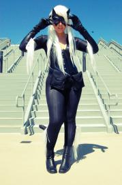 Black Cat from Spider-man worn by Tenacious Bee