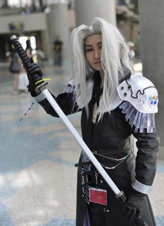 Sephiroth from Final Fantasy Dissidia worn by hokurin