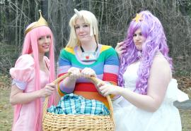 Princess Bubblegum from Adventure Time with Finn & Jake worn by Emmacchi