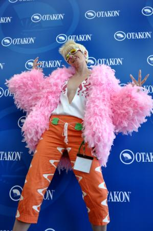 Donquixote Doflamingo from One Piece