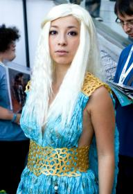 Daenerys Stormborn of House Targeryen from Game of Thrones worn by Thia