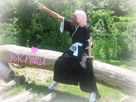 Yachiru Kusajishi from Bleach worn by Knotsu