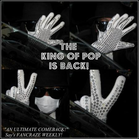 Michael Jackson from Recreation: Celebrity worn by Knotsu