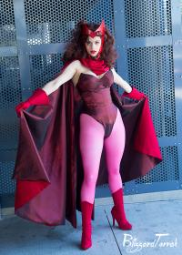 Scarlet Witch from Avengers, The  by Araila