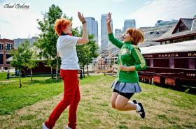 Chie Satonaka from Persona 4  by Tenleid