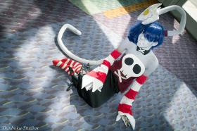 Squiggly from Skullgirls  by Lexiipantz