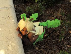 Leafeon from Pokemon worn by Lexiipantz