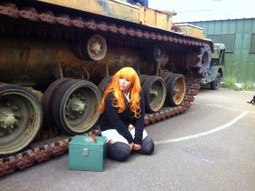Saori Takebe from Girls und Panzer worn by Sado