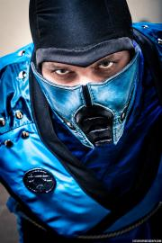 Sub-zero from Mortal Kombat worn by The Letter Jay