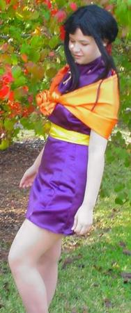 Chichi from Dragonball Z worn by Alisa-chan