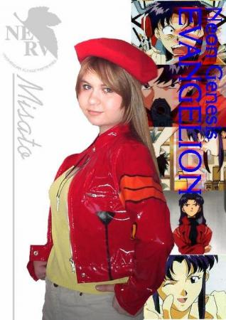 Misato Katsuragi from Neon Genesis Evangelion worn by Alisa-chan