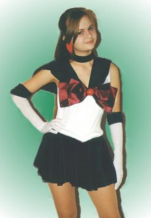 Sailor Pluto from Sailor Moon R worn by Alisa-chan