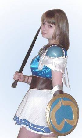 Sophitia Alexandra from Soul Calibur worn by Alisa-chan