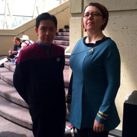 Science Officer from Star Trek  by Pirogoeth
