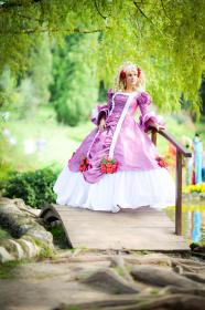 Marie Antoinette from Rose of Versailles worn by DarkFairy Cosplay