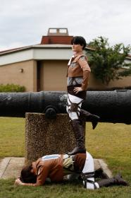 Levi from Attack on Titan worn by Tradanui