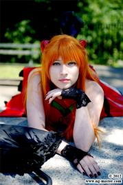 Asuka Langley Sohryu from Neon Genesis Evangelion worn by Koneko YourAverageNerd