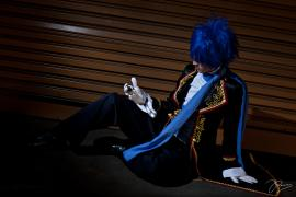 Kaito from Vocaloid worn by Shikaru777