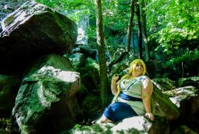 Tsunade from Naruto worn by Sidero