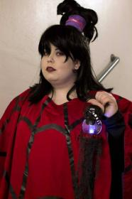 Lydia Deetz from Beetlejuice worn by Sidero