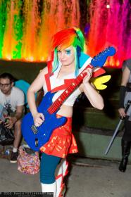 Rainbow Dash from My Little Pony Equestria Girls worn by LadyMella