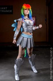 Rainbow Dash from My Little Pony Friendship is Magic worn by LadyMella