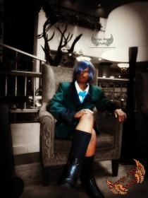 Ciel Phantomhive from Black Butler worn by Sora Kitsune Cosplay