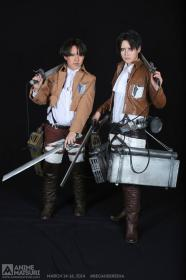 Levi from Attack on Titan worn by BKitten