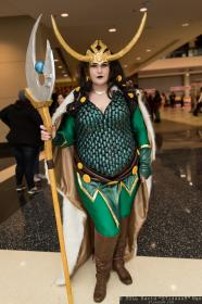 Loki from Marvel Comics worn by AngelsKissCosplay