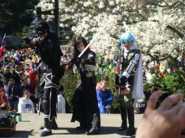 Kirito from Sword Art Online worn by Lu Sen Hwa