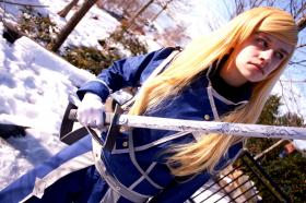 Olivier Milla Armstrong from FullMetal Alchemist: Brotherhood