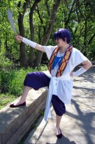 Sinbad from Magi Labyrinth of Magic worn by Fire-Raising