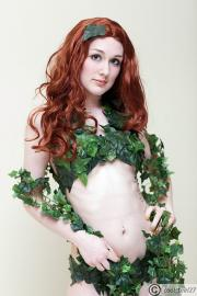 Poison Ivy from Batman worn by Scarlett Victoria