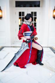 Auron from Final Fantasy X worn by Marie Grey