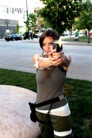 Lara Croft from
