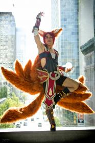 Ahri from League of Legends worn by Narmi