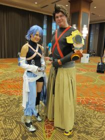 Aqua from Kingdom Hearts Birth by Sleep worn by Christy