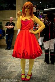Flame Princess from Adventure Time with Finn and Jake worn by pizzarolled