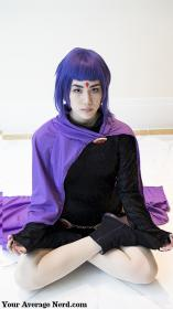 Raven from Teen Titans worn by Anna Mae
