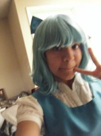 Cirno from Touhou Project worn by Scarlet
