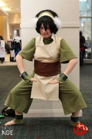 Toph Bei Fong from Avatar: The Last Airbender  by Eleksin