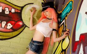 Poison from Final Fight by Harajuku Bunny