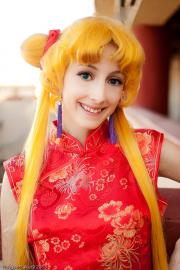 Usagi Tsukino from Sailor Moon worn by Harajuku Bunny