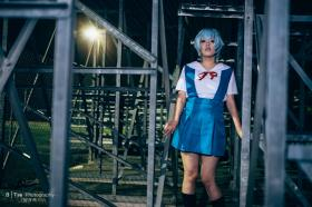 Rei Ayanami from Neon Genesis Evangelion worn by julian