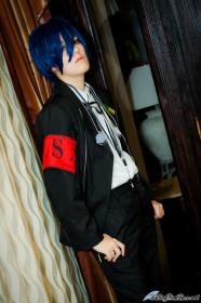 Main Character from Persona 3 worn by thugg lyfe
