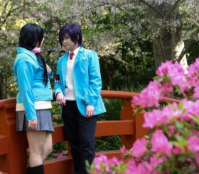 Chizuru Yukimura from Hakuouki: Sweet School Life worn by Rayna
