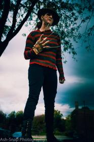 Freddy Krueger from Nightmare on Elm Street worn by TNT Cosplay