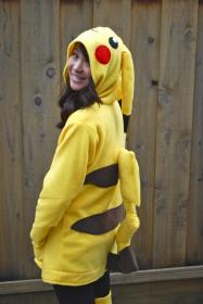 Pikachu from Pokemon worn by The Stylish Geek