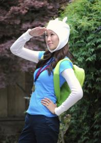 Finn from Adventure Time with Finn and Jake worn by The Stylish Geek
